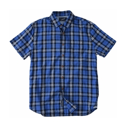 Seaford Poplin Short Sleeve Shirt by Grayers in Flaked