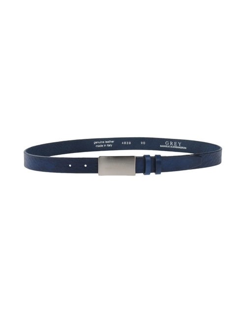 Leather Buckle Belt by Grey Daniele Alessandrini in Neighbors