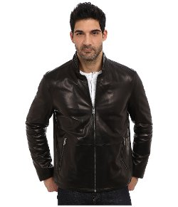 Garnett Glove Leather Jacket by Andrew Marc x Richard Chai in The American