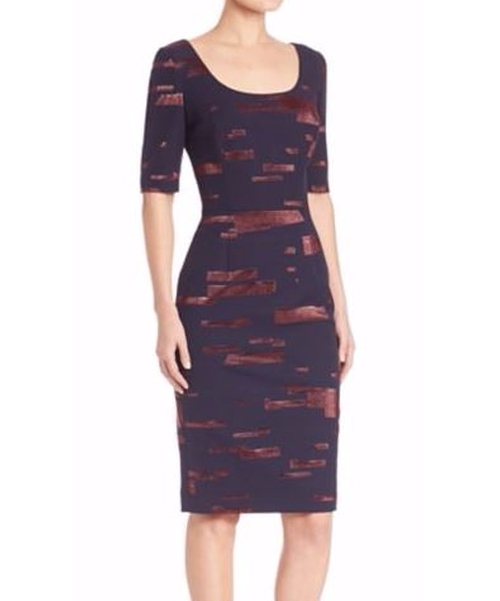 Printed Fil Copupe Sheath Dress by Escada in How To Get Away With Murder - Season 3 Episode 1