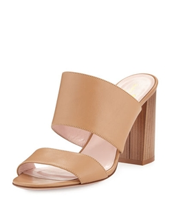 Imma Chunky Heel Mule Sandals by Kate Spade New York	 in Elementary