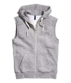 Sleeveless Hooded Jacket by H&M in Walk of Shame