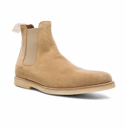 Suede Chelsea Boots by Common Projects in Empire