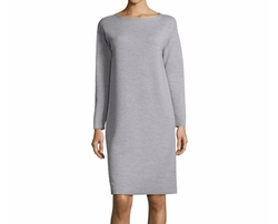 Scoop-Neck Merino Wool Dress by Lafayette 148 New York in Designated Survivor
