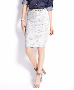 Tweed Pencil Skirt by Ann Taylor in The Best of Me