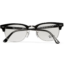 Clubmaster Acetate and Metal Optical Glasses by Ray-Ban in Unfinished Business