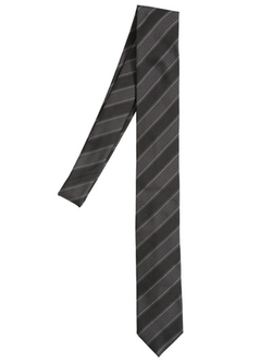 Striped Silk Jacquard Tie by Dolce & Gabbana in American Horror Story