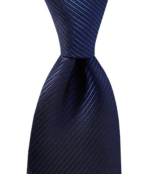 Slim Glimmer Stripe Tie by Murano in Laggies