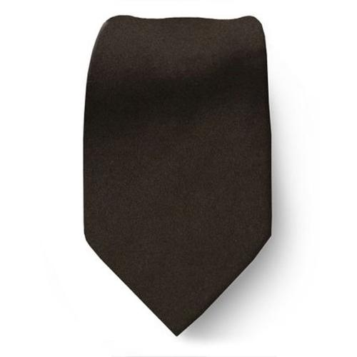 Silk Woven Solid Satin Necktie by Buy Your Ties in Unbroken