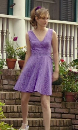 Custom Made Purple Polka Dot Dress (Young Amanda) by Ruth E. Carter (Costume Designer) in The Best of Me