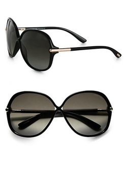 Islay Round Sunglasses by Tom Ford Eyewear in The Gambler