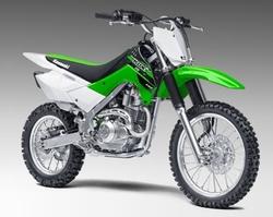 KLX 140 Motorcycle by Kawasaki in Point Break