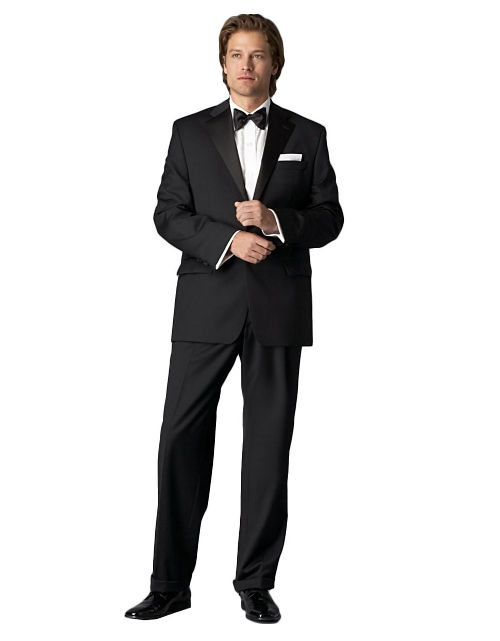 Black Tuxedo Suit by Ralph Lauren in Me and Earl and the Dying Girl