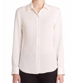 Tenia Modern Silk Blouse by Theory in How To Get Away With Murder
