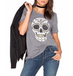 Sugar Skull Tee by Chaser in Jane the Virgin