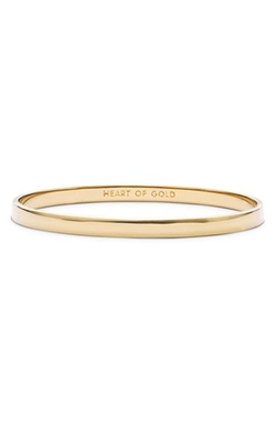 'Idiom - Heart Of Gold' Bangle Bracelet by Kate Spade New York in Sisters