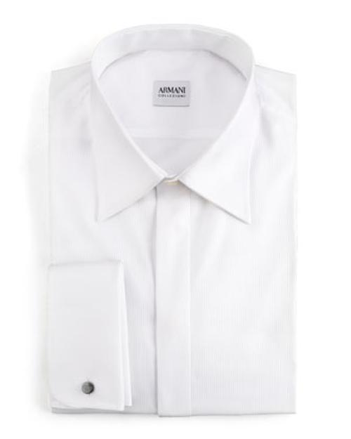Basic Formal Shirt by Armani Collezioni in Gone Girl