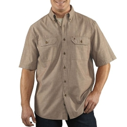 Short Sleeve Shirt Lightweight Button Shirt by Carhartt in Fast Five