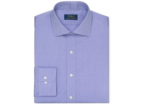 Poplin Solid Dress Shirt by Polo Ralph Lauren in Get Hard
