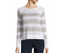 Organic Linen & Organic Cotton Striped Sweater by Eileen Fisher in Modern Family