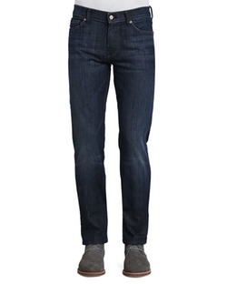 Slimmy Slim-Fit Jeans by 7 For All Mankind in Our Brand Is Crisis