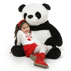 Papa Xin Giant Stuffed Panda Bear by Giant Teddy in Taken 3