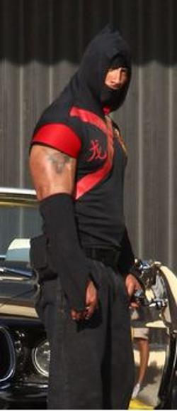 Custom Made Ninja Warrior Costume (Paul Doyle) by Deborah Lynn Scott (Costume Designer) in Pain & Gain