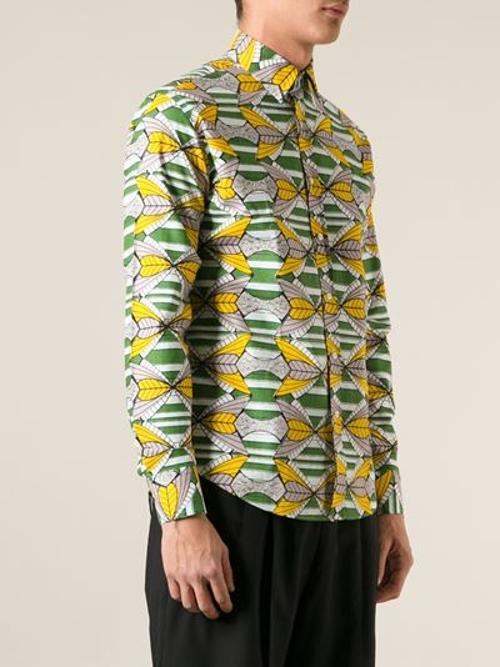 Printed Shirt by Stella Jean in Yves Saint Laurent