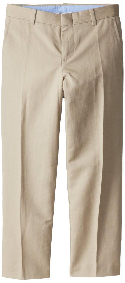 Big Boys' Tri Blend Linen Dresswear Pant by Izod in Unbroken