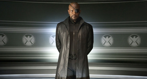 Custom Made 'Nick Fury' Leather Coat by Alexandra Byrne (Costume Designer) in Marvel's The Avengers