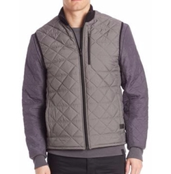 Quilted Zipped Vest by Victorinox Swiss Army in Power Rangers