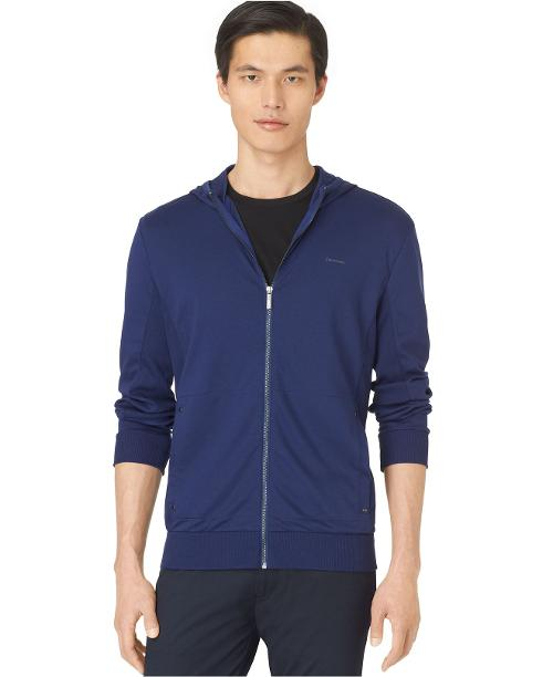 Full-Zip Hoodie by Calvin Klein in Project Almanac