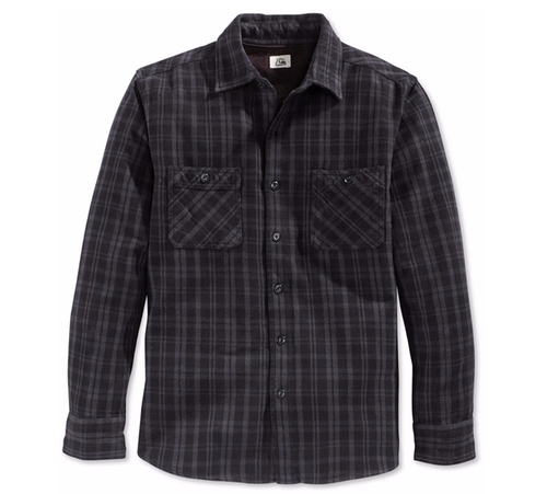 Men's Roachcontact Plaid Long-Sleeve Shirt by Quiksilver in Gilmore Girls: A Year in the Life - Season 1 Preview
