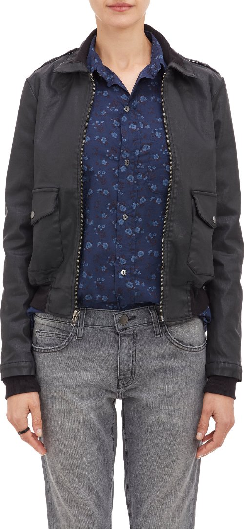 Bomber Jacket by Current/Elliott in That Awkward Moment