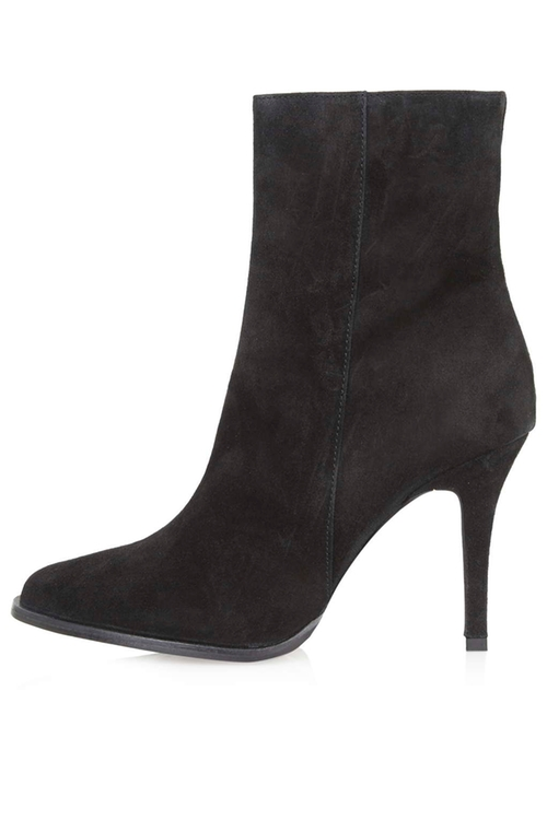 Suede Ankle Boots by Heidi in Pretty Little Liars - Season 6 Episode 9