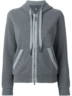 Zipped Hoodie by Eleventy in Jessica Jones