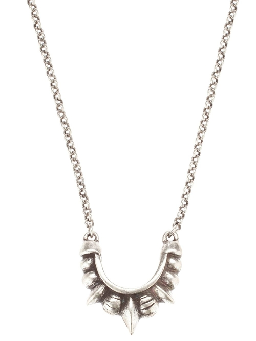 Spike Pendant Necklace by Pamela Love in Trainwreck