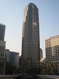 Los Angeles, California by Figueroa at Wilshire in Nightcrawler