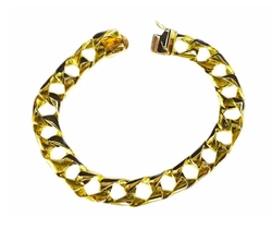 Heavy Handmade Link Bracelet by Tex in Kevin Hart: What Now?