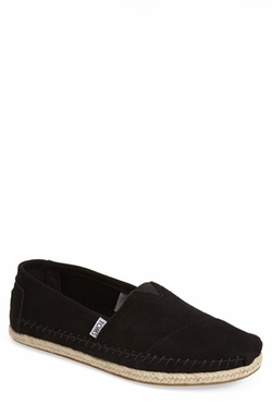 'Classic' Suede Slip-On Loafers by Toms in Wet Hot American Summer