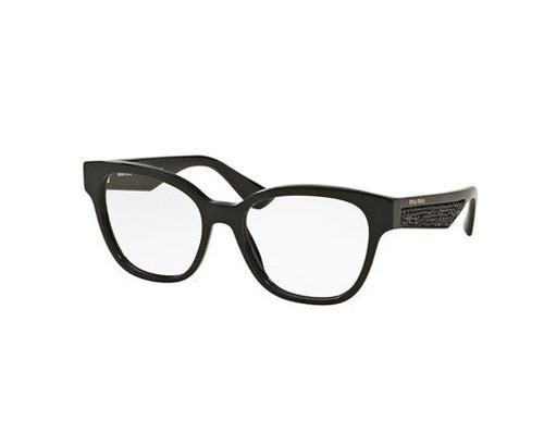 Beaded Cat-Eye Optical Frame Eyeglass by Miu Miu in Keeping Up With The Kardashians - Season 12 Episode 7