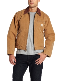 Men's Weathered Duck Detroit Jacket by Carhartt in Max