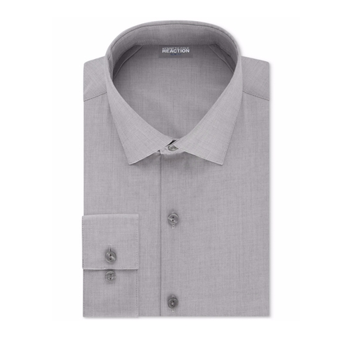 Techni-Cole Stretch Performance Dress Shirt by Kenneth Cole Reaction in Fifty Shades Darker