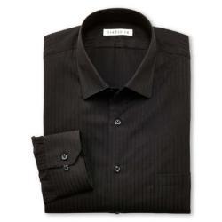 Satin Stripe Dress Shirt by Van Heusen in Couple's Retreat