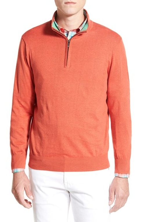 Quarter Zip Sweater by Toscano in Silicon Valley - Season 3 Episode 6