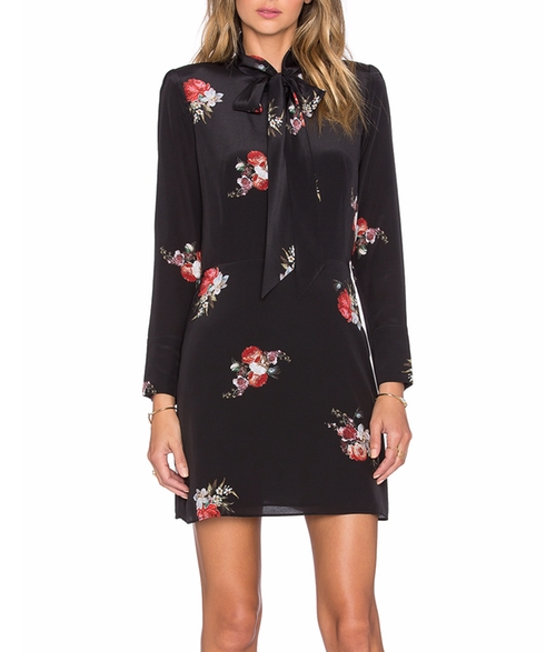 Flower Print Dress by The Kooples in New Girl