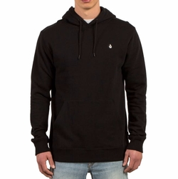 Single Stone Pullover Hoodie by Volcom in Death Wish