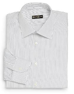 Fine Striped Dress Shirt by Corneliani in The Wolverine