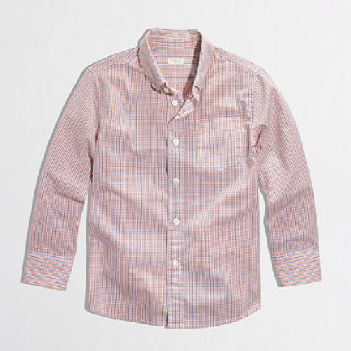 Boys' Novelty Washed Shirt by J.Crew Factory in St. Vincent