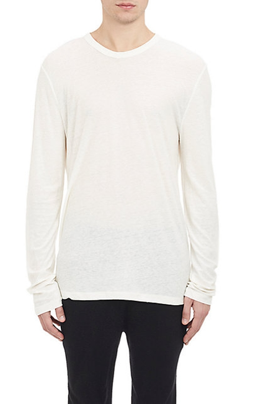 Jersey Long-Sleeve T-Shirt by T by Alexander Wang in Victor Frankenstein